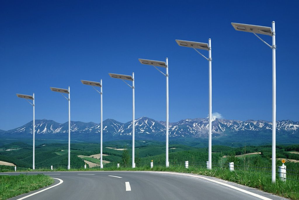 lamparas solares para alumbrado público