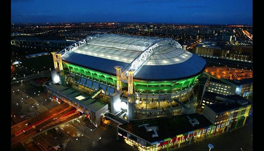 Johan Cruijff Arena de Ámsterdam, sede del equipo holandés AJAX