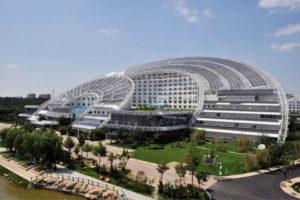 Sun Moon Mansion El edificio solar más grande del mundo
